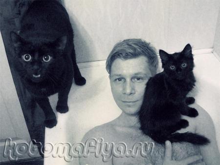 Юрий Звёздный и его котики