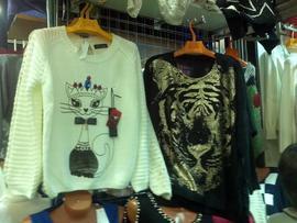 Кошки на одежде