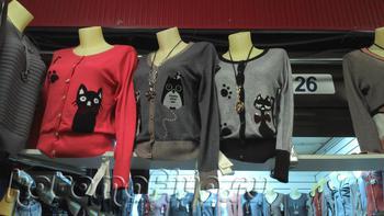 Одежка и кошки