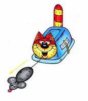 Игрушка кошки-мышки