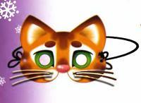 Кошачья маска