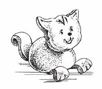 Кот глиняный