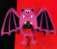 Летучая мышь. Поделка из мягкого пластика