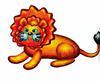 Пластилиновый лев