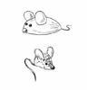 Мышка из желудя и кукурузы